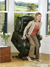 Lynton Leather Lift Recliner